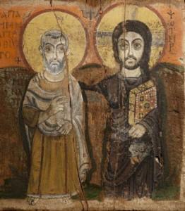 Christ abbé Mena Louvre